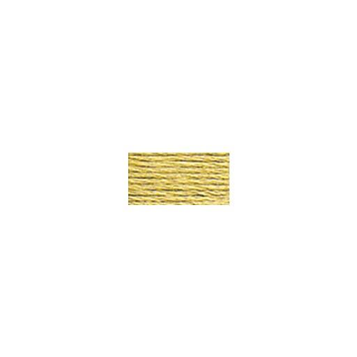 DMC Six Strand Embroidery Floss, Cotton, 8.7 Yards, Medium Yellow Beige (117-3046)