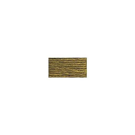 DMC Six Strand Embroidery Floss, Cotton, 8.7 Yards, Drab Brown (117-611)