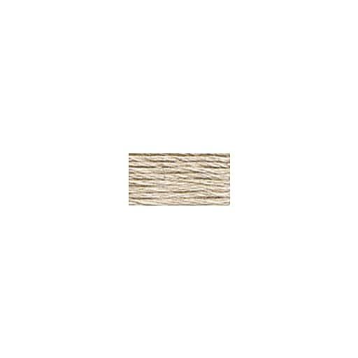 DMC Six Strand Embroidery Floss, Cotton, 8.7 Yards, Light Shell Grey (117-453)
