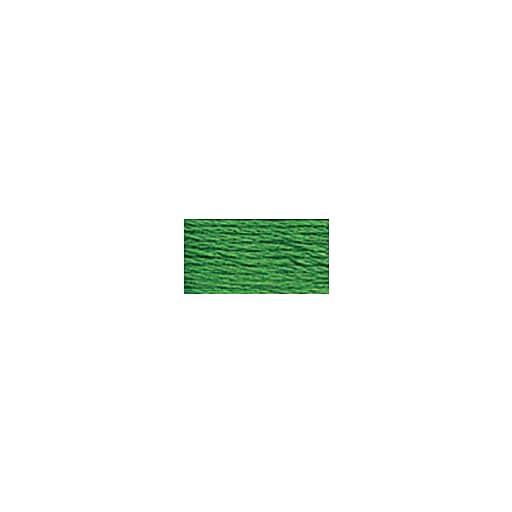 DMC Six Strand Embroidery Floss, Cotton, 8.7 Yards, Light Christmas Green (117-701)