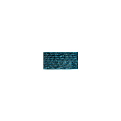 DMC Six Strand Embroidery Floss, Cotton, 8.7 Yards, Ultra Very Dark Turquoise (117-3808)