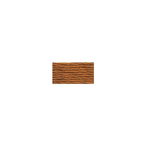 DMC Six Strand Embroidery Floss, Cotton, 8.7 Yards, Ultra Very Dark Topaz (117-780)