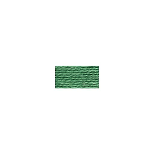 DMC Six Strand Embroidery Floss, Cotton, 8.7 Yards, Med. Celadon Green (117-163)