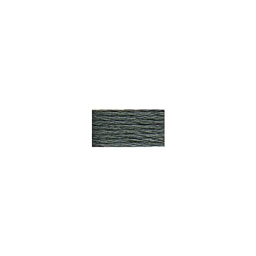 DMC Six Strand Embroidery Floss, Cotton, 8.7 Yards, Dark Pewter Grey (117-413)
