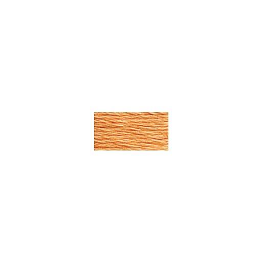DMC Six Strand Embroidery Floss, Cotton, 8.7 Yards, Pale Pumpkin (117-3825)