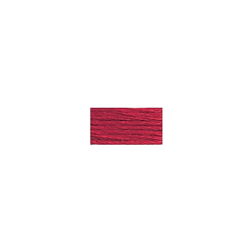 DMC Six Strand Embroidery Floss, Cotton, 8.7 Yards, Christmas Red (117-321)