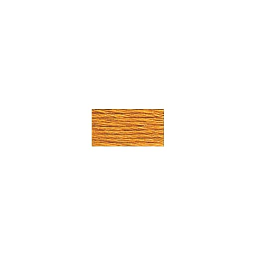 DMC Six Strand Embroidery Floss, Cotton, 8.7 Yards, Light Golden Brown (117-977)