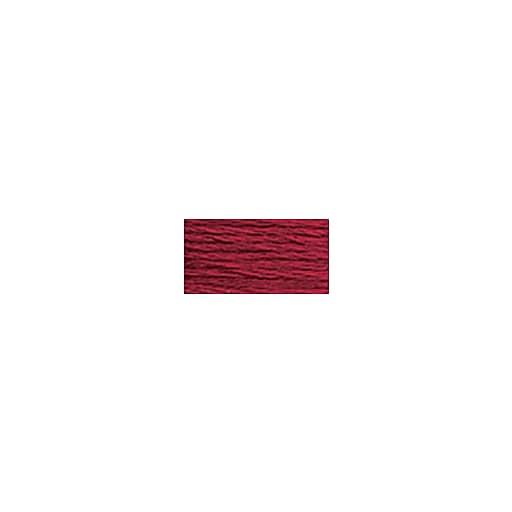 DMC Six Strand Embroidery Floss, Cotton, 8.7 Yards, Very Dark Raspberry (117-777)
