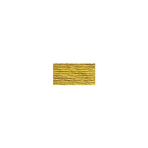 DMC Six Strand Embroidery Floss, Cotton, 8.7 Yards, Light Golden Olive (117-833)
