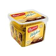 Bauducco Wafers, Vanilla/Chocolate, 1.41 Oz., 22/Pack (9979)