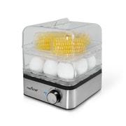 Nutrichef Electronic Food Steamer & Egg Cooker Clear (PKEC12)