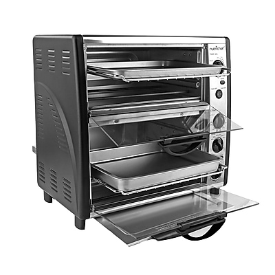 """""Nutrichef PKMFTO26 14.5"""""""" Multi-Function Dual Oven with Rotisserie & Roast Cooking 110V"""""" 24004928"