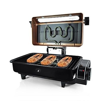 Nutrichef Fish Grill Roasting Oven Cooker Copper Finish (PKFG16) 24005095