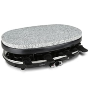 Nutrichef Raclette Grill Party Cooktop Stone Finish (PKGRST46)