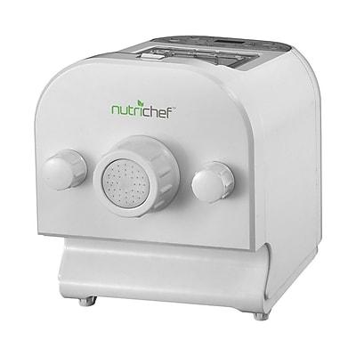 Nutrichef Electric Digital Noodle Pasta Spaghetti Maker White (PKPM350)