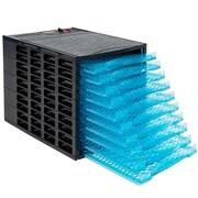 Nutrichef Large Capacity Electric Food Dehydrator/Preserver Black (PKFD25)