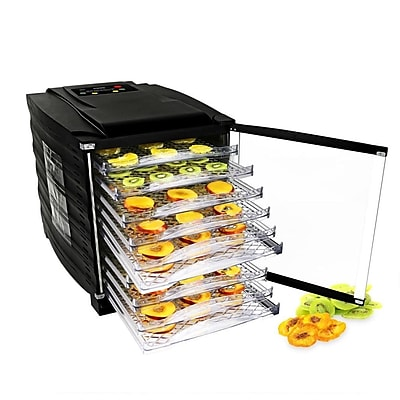 Nutrichef Multi-Tier Digital Food Dehydrator Black (PKFD54)