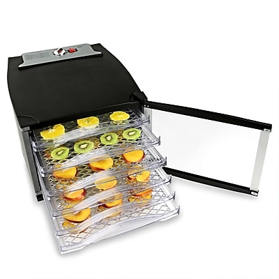 Nutrichef Multi-Tier Digital Food Dehydrator Black (PKFD52)