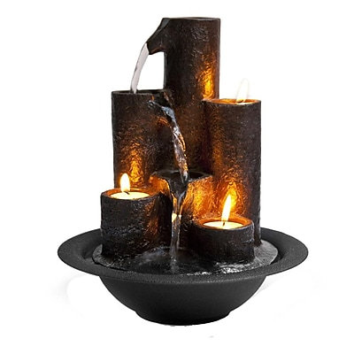Serene Life Water Fountain - Relaxing Tabletop Water Feature Decoration