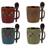 Gibson Mr. Coffee Cafe Americano 13oz Mug Set