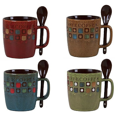 Gibson Mr. Coffee Cafe Americano 13oz Mug Set
