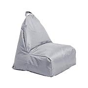 Cali Alpine Fabric Bean Bag Chair, Gray (10481-GY)