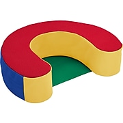 SoftScape Sit and Support Ring Foam Floor Cushion, Multicolor (10423-AS)
