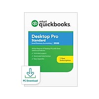 Intuit Desktop Pro Standard 2020 for 1 User Windows Digital Deals
