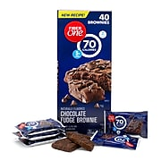 Fiber One Brownies, Chocolate Fudge, 0.88 Oz., 40 Count (220-00454)