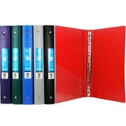 DDI BAZIC 1 in. Matte Color Poly 3-Ring Binder with Pocket Case Of 48(DLRDY248171)