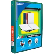 Bazic Products .5 in. Green 3-Ring View Binder with 2-Pockets - Pack of 12(BAZC1691)