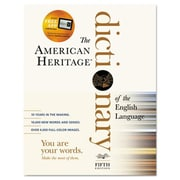 Houghton Mifflin American Heritage Dictionary of the English Language 2 112 Pages(AZERTY4511)
