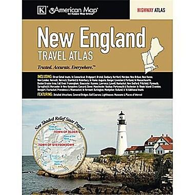 Universal Map New England Travel Atlas(RTL249781)