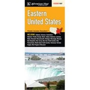 Universal Map United States Regional Eastern Fold Map(RTL249802)