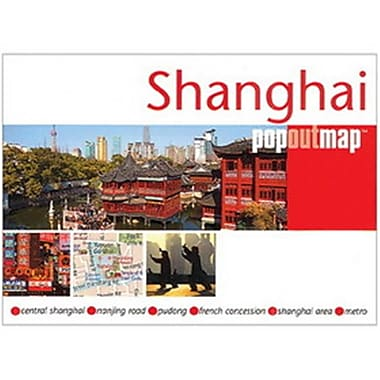 Universal Map Shanghai Popout Map(RTL249915)