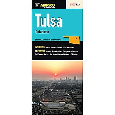 Universal Map Tulsa Fold Map(RTL249591)