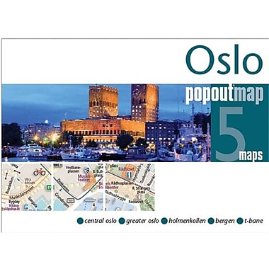 Universal Map Oslo Popout Map(RTL249910)