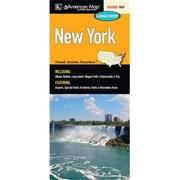 Universal Map New York Large Print Fold Map(RTL249498)