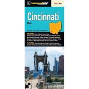 Universal Map Cincinnati Fold Map(RTL249559)
