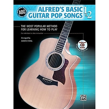 Alfred Basic Guitar Pop Songs 1 & 2 - Music Book(ALFRD36123)