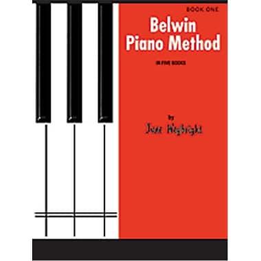Alfred Belwin Piano Method- Book 1 - Music Book(ALFRD41942)