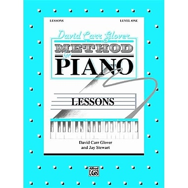 Alfred David Carr Glover Method for Piano- Lessons- Level 1 - Music Book(ALFRD41370)