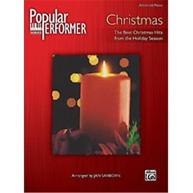 Alfred Popular Performer Christmas - Music Book(ALFRD42576)