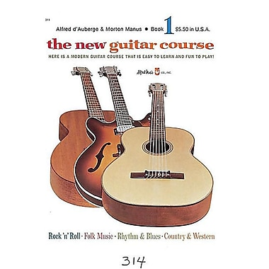 Alfred The New Guitar Course- Book 1 - Music Book(ALFRD36158)