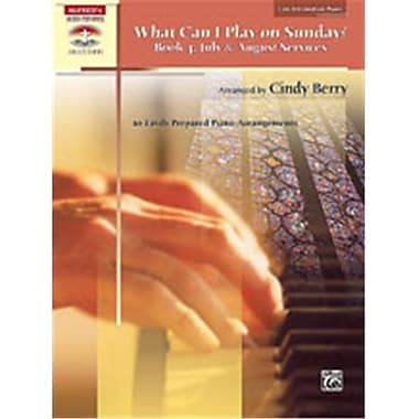 Alfred What Can I Play on Sunday- Book 4- July & August Services - Music Book(ALFRD42593)