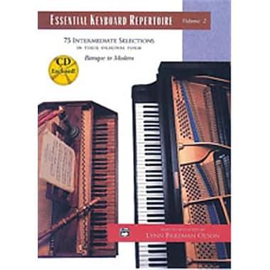 Alfred Essential Keyboard Repertoire- Volume 2 - Music Book(ALFRD42132)