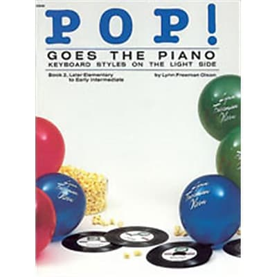 Alfred Pop Goes the Piano- Book 2 - Music Book(ALFRD42485) 24013419