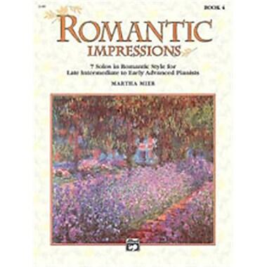 Alfred Romantic Impressions- Book 4 - Music Book(ALFRD42329)