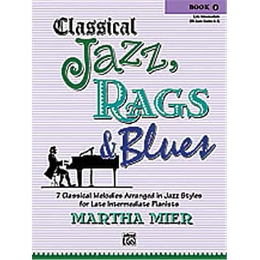 Alfred Classical Jazz- Rags & Blues- Book 4 - Music Book(ALFRD42709)