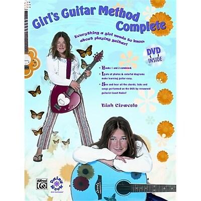 Alfred Girl s Guitar Method Complete - Music Book(ALFRD36095) 24022717
